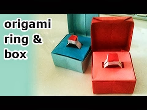 Origami Maniacs Origami Ring In A Box