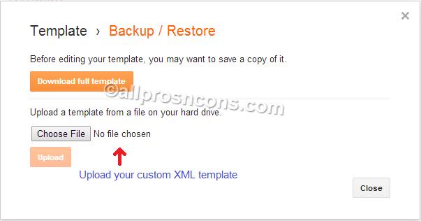 custom xml templates, blogging widgets, blogger templates