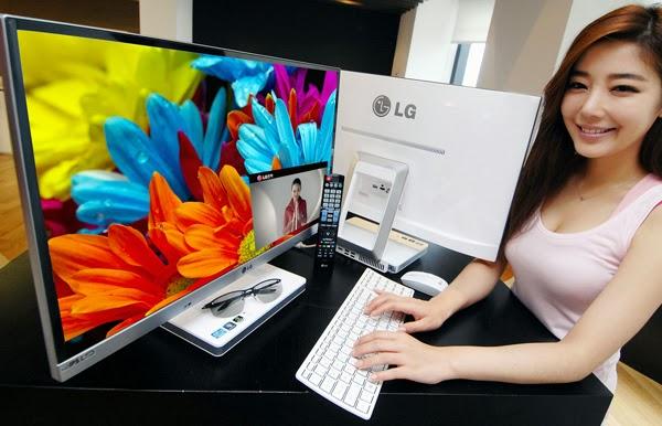 презентация 3D моноблока LG V720