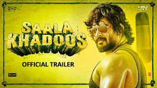 Complete cast and crew of Saala Khadoos (2016) bollywood hindi movie wiki, poster, Trailer, music list - R. Madhavan and Ritika Singh, Movie release date 29 January 2016