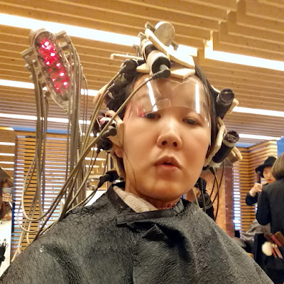 Myeongdong Juno Hair Salon (준오헤어) for hair cut + setting perm | www.meheartseoul.blogspot.sg