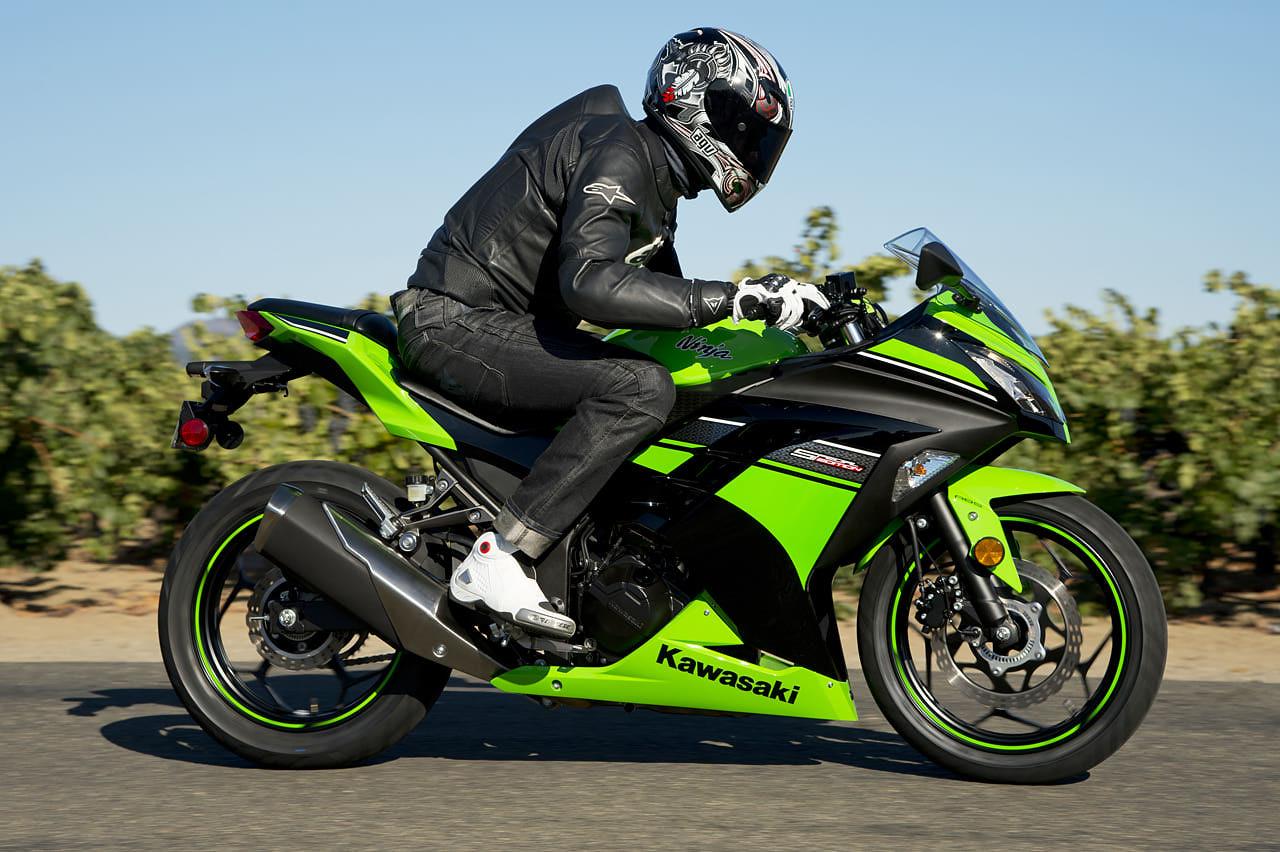 Kawasaki Ninja 300 Action