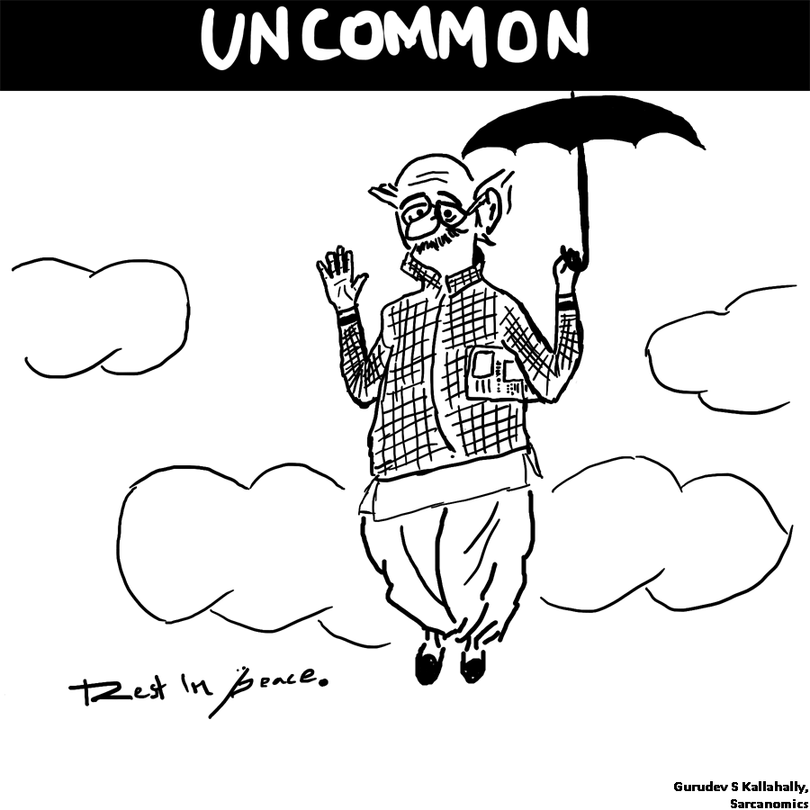 A tribute to R K Laxman