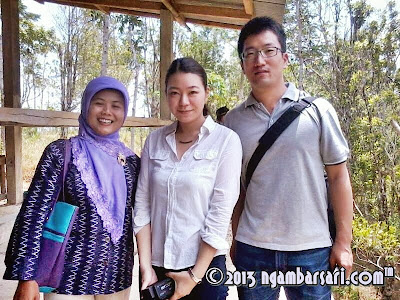 Foto Kunjungan Sorgum bersama Fitri, Akiko, Tanaka