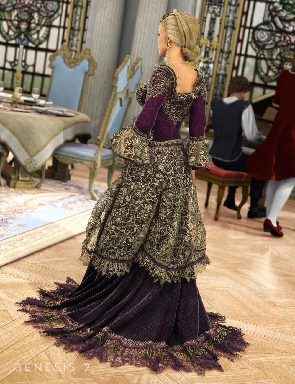 Robe de bal Grande pour Genesis 2 Femme