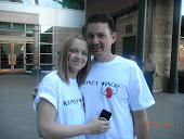 Me and Sas Kidney Walk 2011