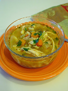 Rotisserie Chicken Soup from Soup Spice Everything Nice