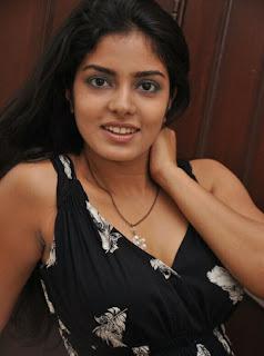 0024 WWW.BOLLYM.BLOGSPOT.COM Tamil Actress Janavi  Crossed Legs in Black Dress at Oththa Veedu Movie Team Interview Picture Posters Stills Image Wallpaper Gallery.jpg