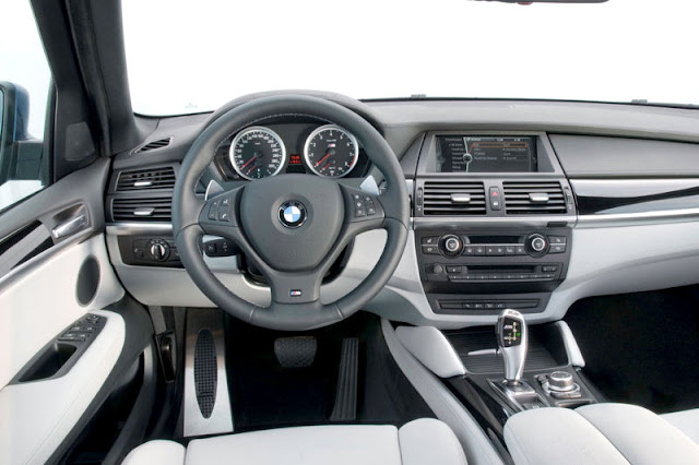 2010 BMW X5 M Front Interior Rear View