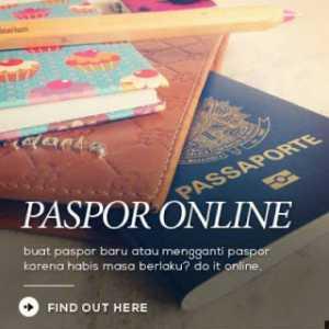 Tips Perpanjangan Paspor Secara Online