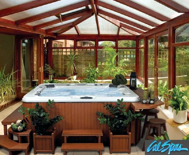 Cal spas resort living your cal spas hot tub options for Cal spa gazebo