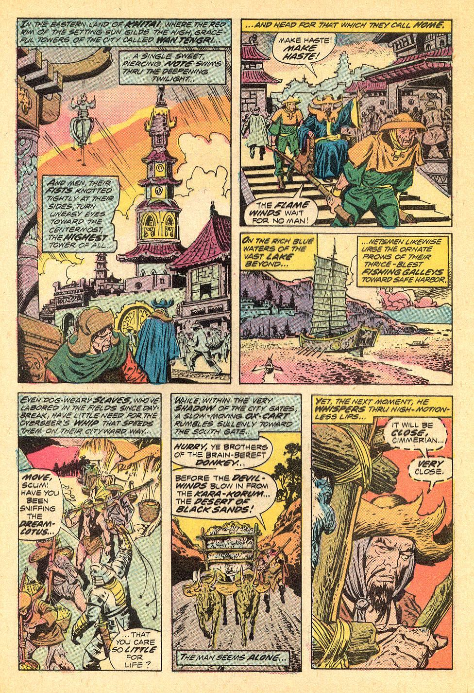 Conan the Barbarian (1970) Issue #32 #44 - English 3