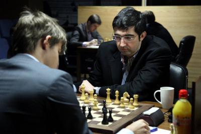 Vladimir Kramnik a annulé face à Magnus Carlsen