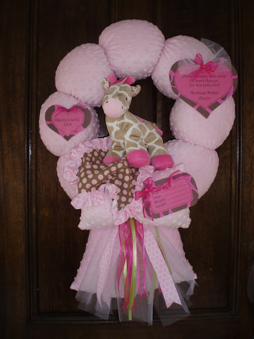 "76. custom ""Jungle jill"" baby wreath"