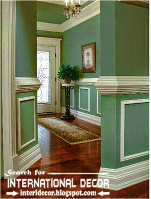 Decorative wall molding designs ideas and panels for door and windows