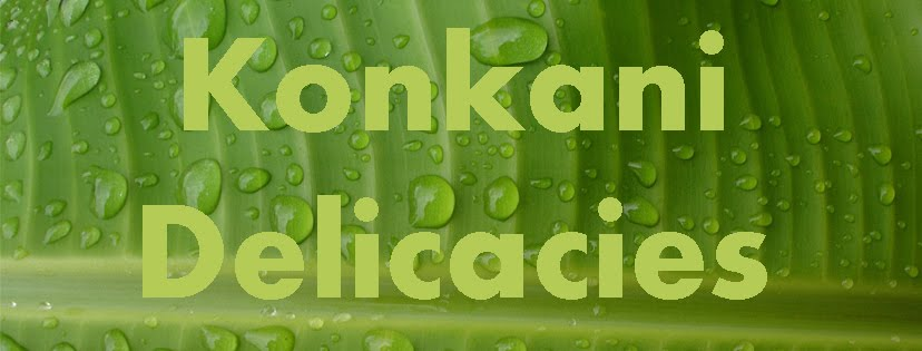 "New FB Food Group: ""Konkani Delicacies"""