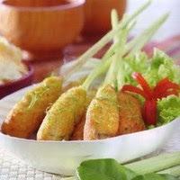 Resep makanan indonesia sate ikan goreng