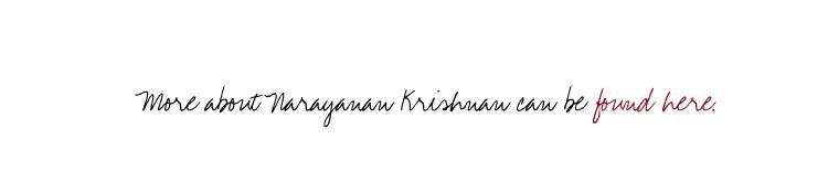 Narayanan Krishnan - Website Link