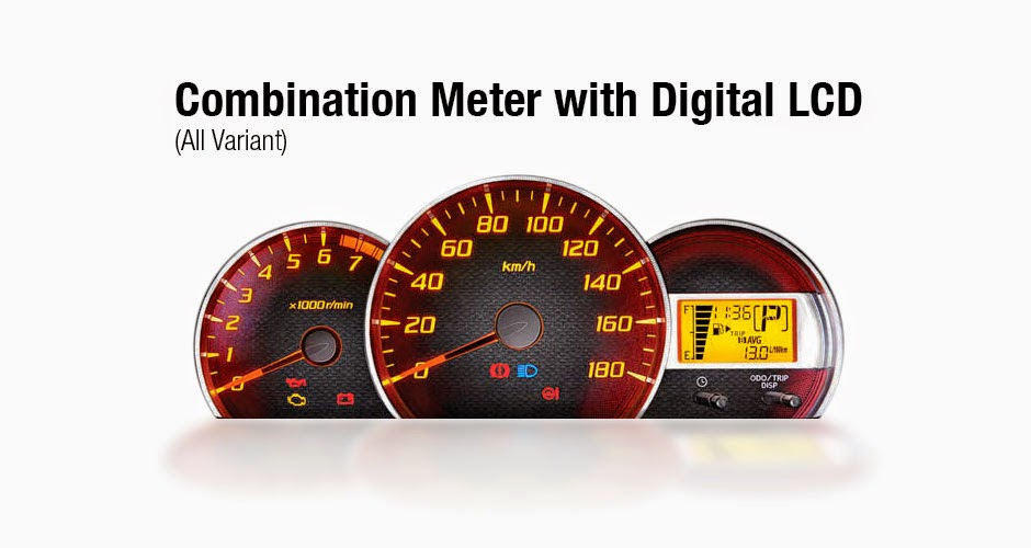 Combination Meter Avanza 2015