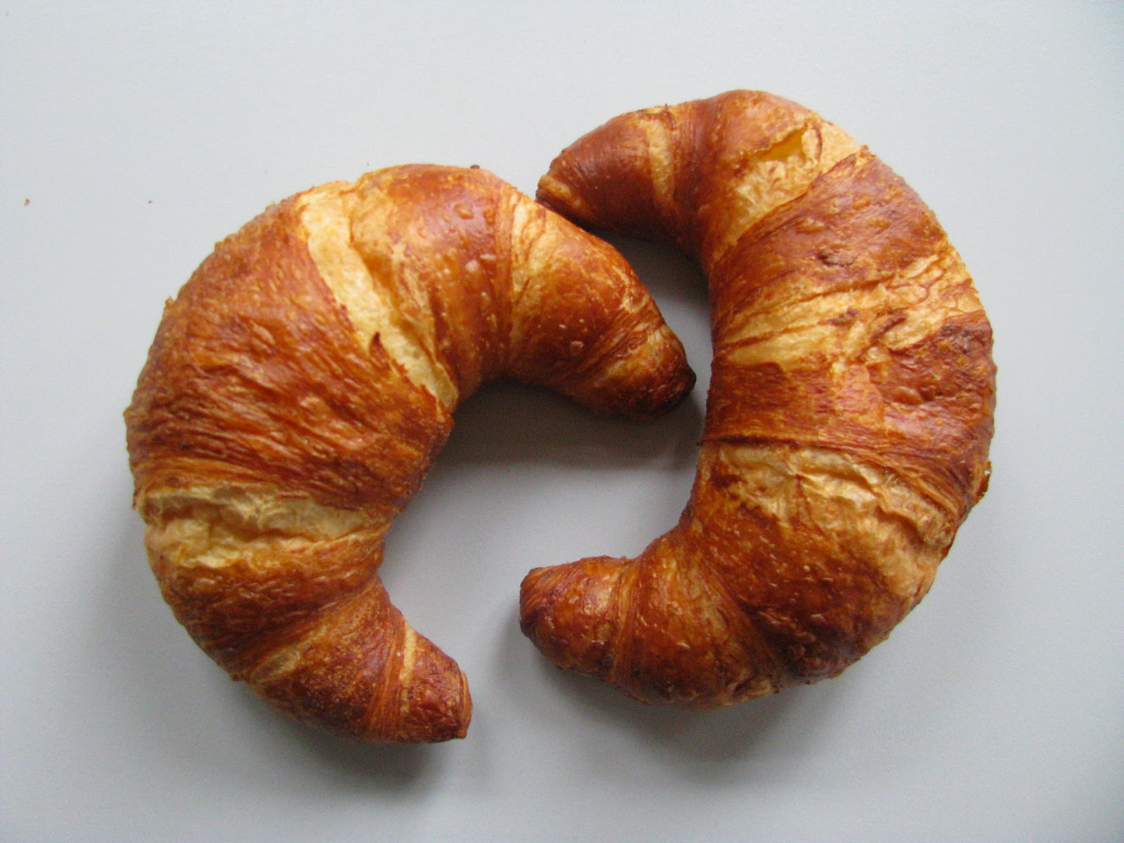 """This week's lucky """"winner""""... croissants!!"""