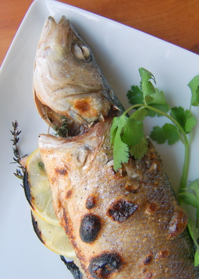 Beyond salmon how to cook and eat a whole fish video for How to cook a whole fish