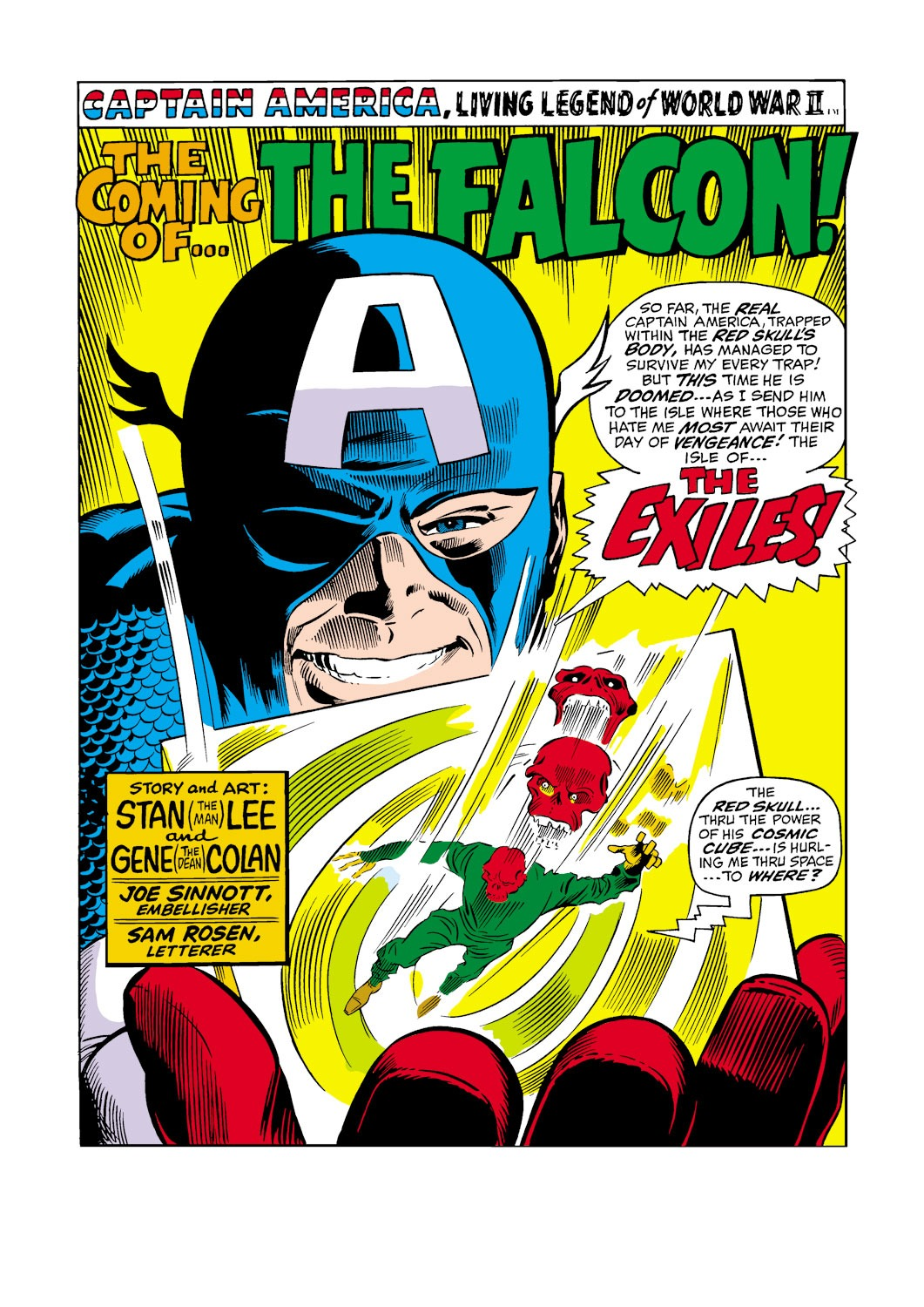 Captain America (1968) Issue #117 #31 - English 2