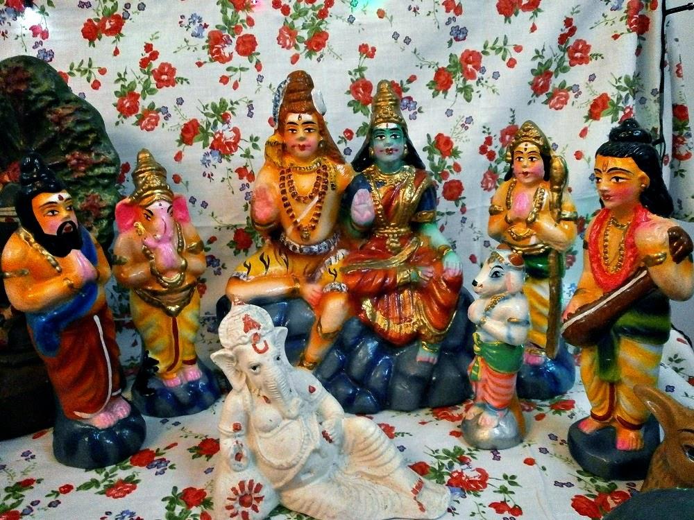Navarathri Golu at our home!