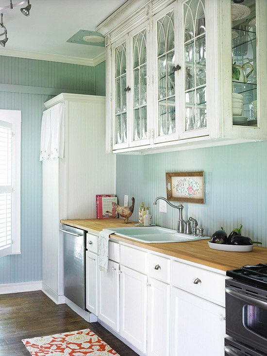 Gallery for turquoise kitchen walls - Turquoise and orange kitchen ...