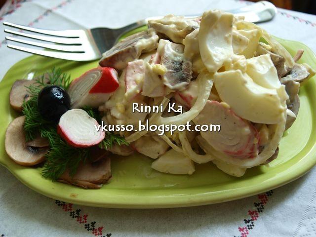 салат рецепт как в челентано