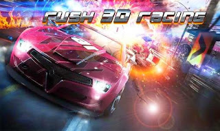 Screenshots of the Rush 3D racing for Android tablet, phone.