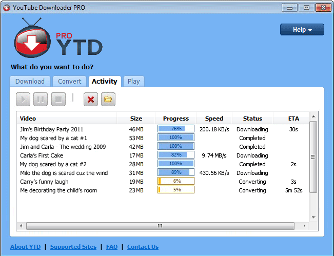 online youtube downloader and converter
