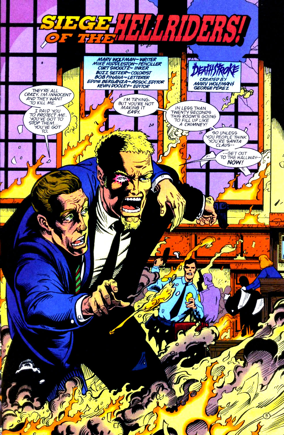 Deathstroke (1991) Issue #59 #64 - English 4