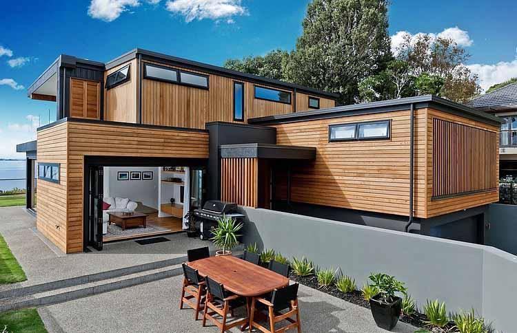 Rumah Kayu Minimalis & Rumah Kayu Minimalis - Desain Rumah Minimalis