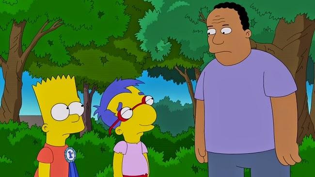 Los Simpsons- Capitulo 22 - Temporada 25 - Audio Latino -  La Placa Amarilla de la Cobardía