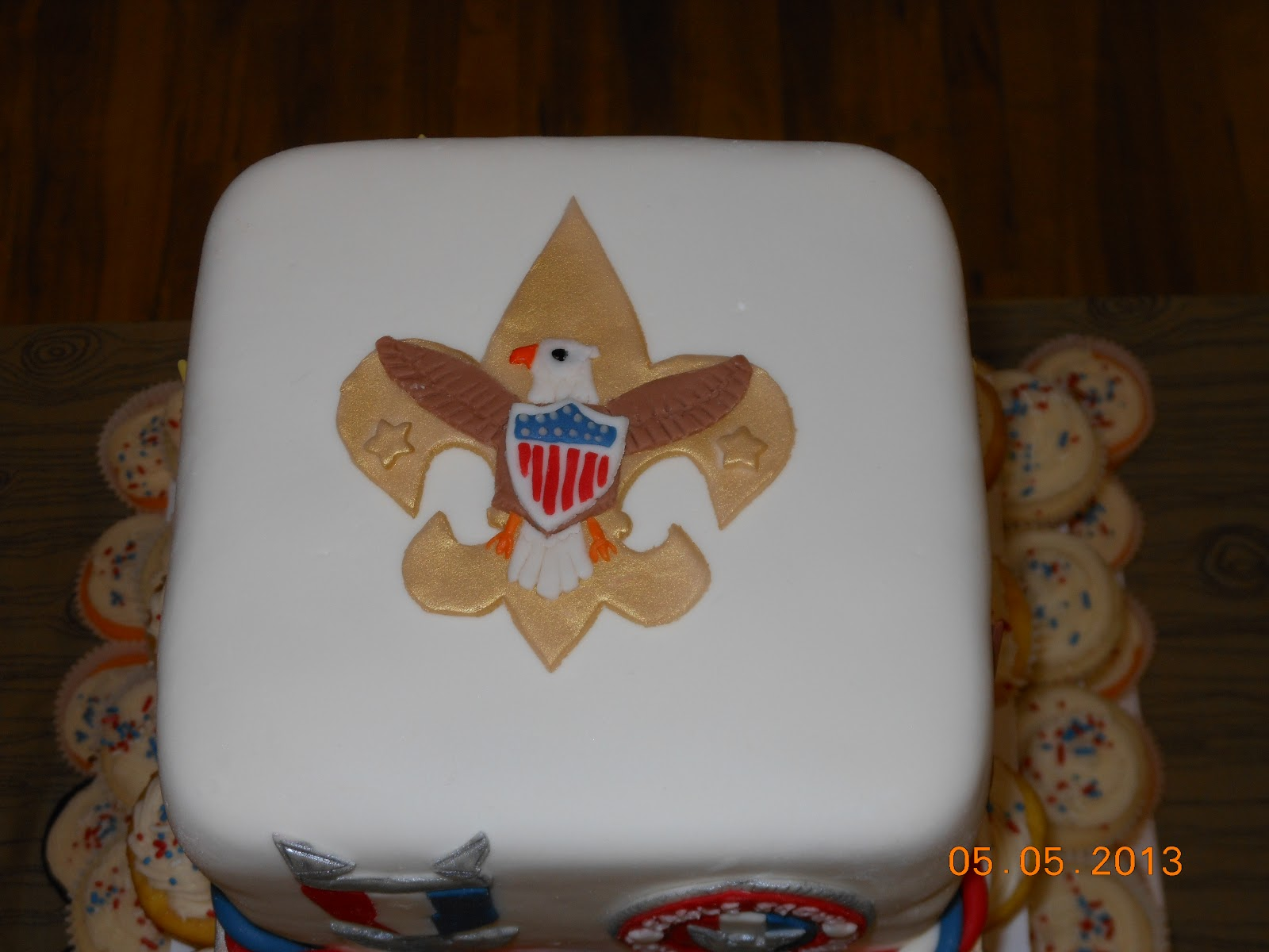 Eagle Scout Cupcakes