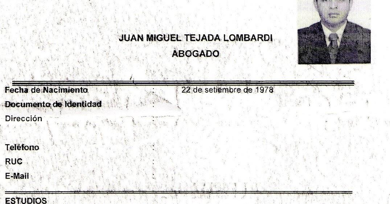 UN MUY INTERESANTE CV | TODO SOBRE PINTADILLA