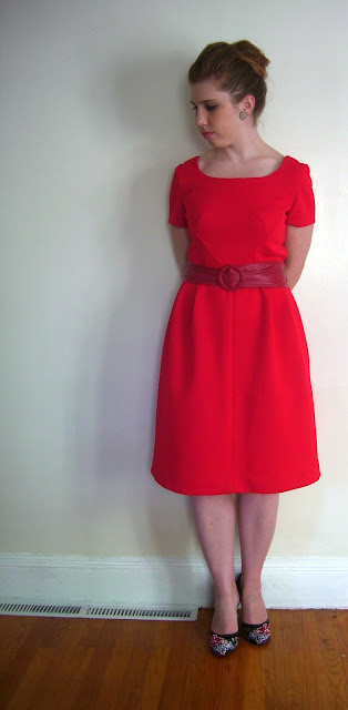 make sew vintage 1960s pattern dress