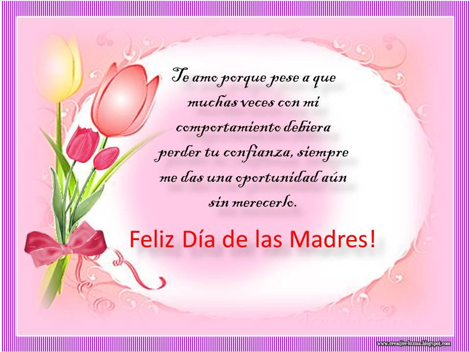 Feliz DIA De Las Madres Poemas