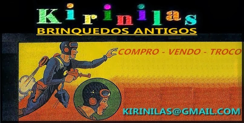 KIRINILAS BRINQUEDOS ANTIGOS