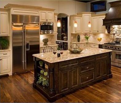 Dise os de cocinas fotos de cocinas integrales - Disenos de cocinas rusticas ...