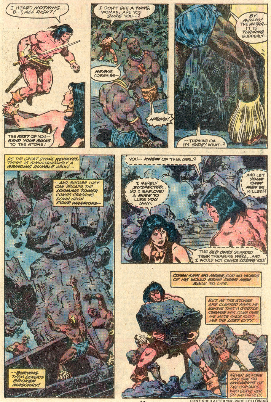 Conan the Barbarian (1970) Issue #100 #112 - English 10