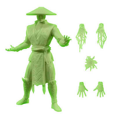 San Diego Comic-Con 2015 Exclusive Mortal Kombat X Glow in the Dark Raiden Action Figure by Mezco Toyz & Toys R Us