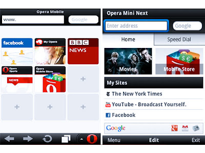 opera mini for smart phone