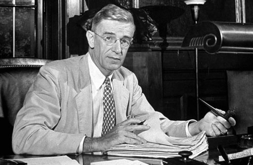 1945 vannevar bush essay Xem video the title of this talk is inspired from a vannevar bush 1945 essay entitled as we may think the general theme of the presentation is the future of.