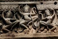 Detalle del templo de Angkor Wat.