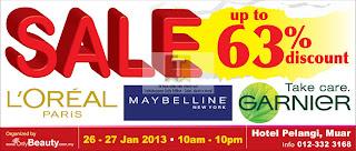 Loreal Maybelline OnlyBeauty Sale 2013