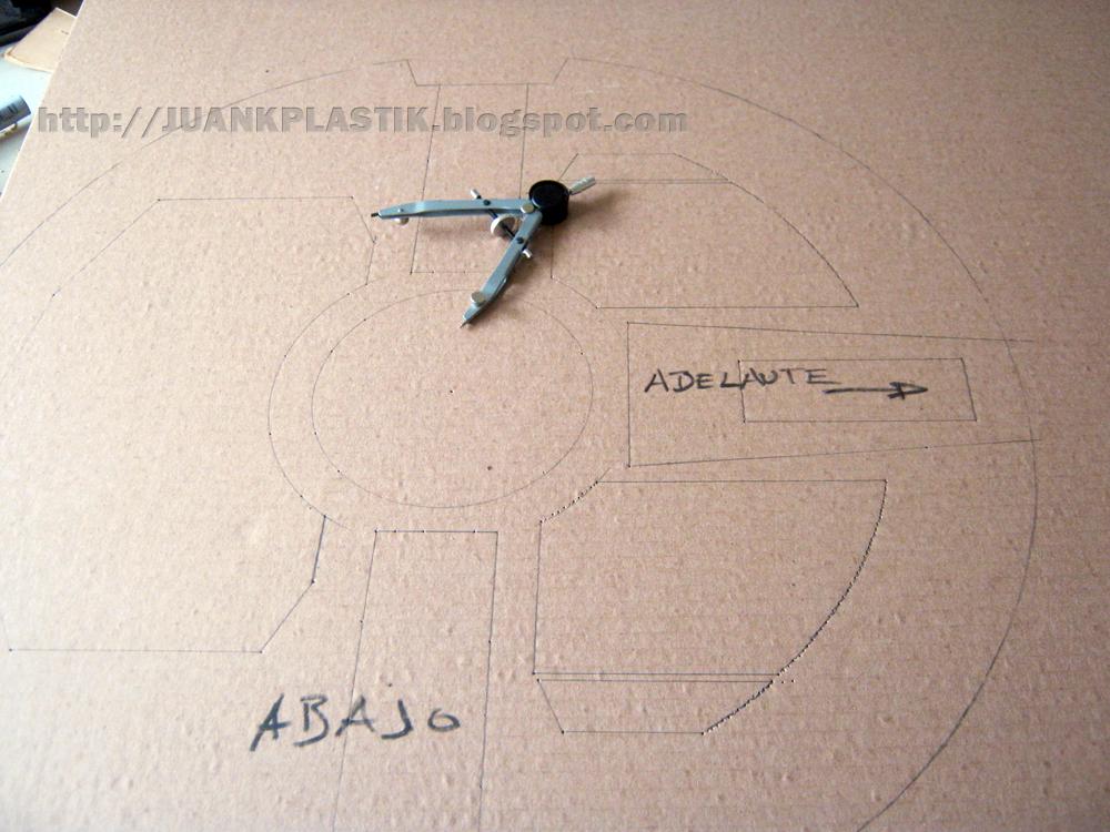 "JUANKPLASTIK:::: Maqueta Millennium Falcon /studio scale 32"" 02 ..."