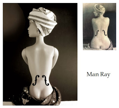 man ray barbie