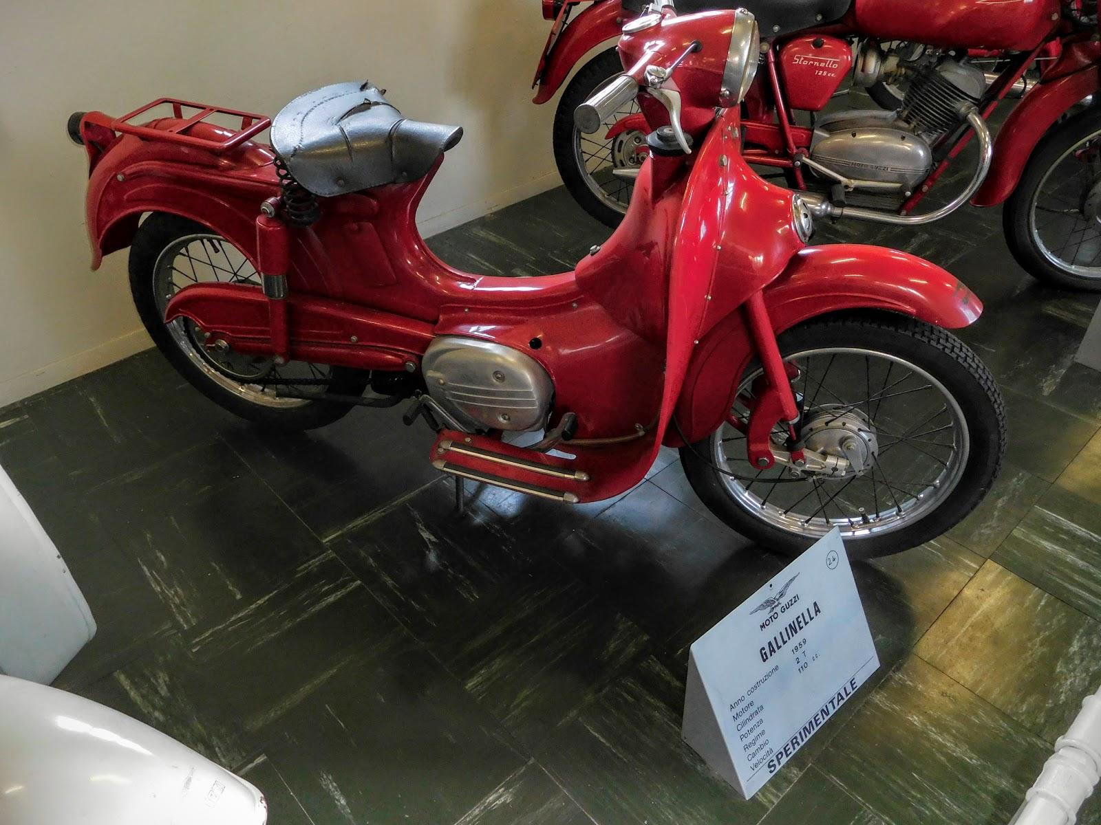 Tigho NYDucati: 1959 Moto Guzzi Gallinella