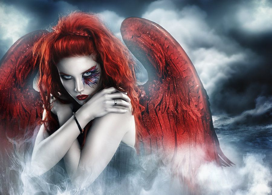 dark horror gothic angel - photo #33